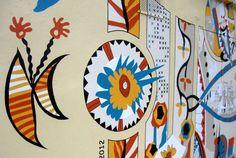 Elizabeth Foyé projet peinture murale MagnoliasCrédit Photo Niolas Foyé