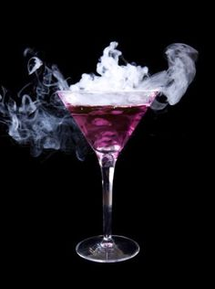 Purple Rain  1 oz Vodka  1 oz Blue Curaçao  1 oz Coconut Rum  ½ oz Lemon-Lime Soda  Splash of Grenadine  Half fill a shaker with ice.  Pour in the Vodka, Blue Curaçao, Coconut Rum and Lemon-Lime Soda.  Stir or shake gently.  Pour into a glass.  Add the Grenadine over the top.  As the red of the Grenadine drips down the blue drink you should get the impression of purple rain.