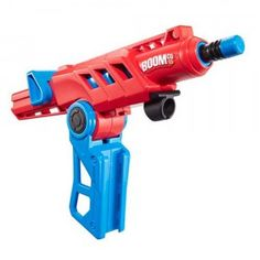 Shoots darts up to 50 feet and can be attached to another BOOMco. blaster for added firepower.