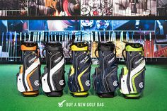 ✔️Buy a New Golf Bag. Check out the new range of Cleveland Golf Friday Cart Bags, just in time for the weekend! Golf Shop, Golf Stores, Dubai Golf, Cleveland Golf, Used Golf Clubs, New Golf, Callaway Golf, Taylormade, Golf Ball