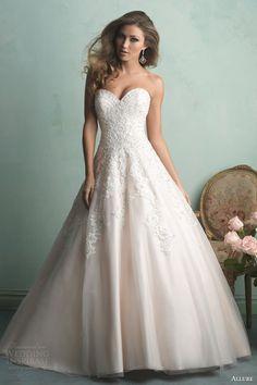 Allure Bridals Fall 2014 Wedding Dresses | Wedding Inspirasi