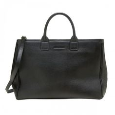 The KEVI TOTE: A modern classic, with elegant design details and refined functionality. Made of leather and a classic silhouette has a center compartment, front and back slit pockets for easy access, an optional, adjustable cross-body strap and protective Modern Classic, Nice Tops, Shopping Bag, Bring It On, Handbags, Leather, Collection, Totes, Purse