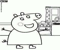 Dibujos para imprimir Peppa pig 7  Seccin de dibujos para