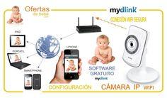 vigilabebes con camara baratos MYDLINK BABY camara ip vigilabebes wifi DCS-932L de babymims comprar camaras vigilabebes conectadas a smartphone camara ip para bebes