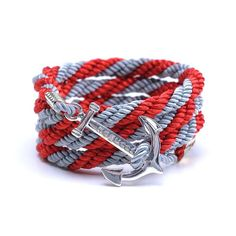 AlumniCrew Red/Grey Are you ready to rock your school colors in authentic Alumni Crew Style? The Joseph Nogucci Alumni Crew Bracelet Collection has brought the ancient symbolism of nautical exploration and turned it into a fashion statement that says a lot about the adventurer in you and is designed to make a splash by letting you flaunt your school spirit.  - See more at: http://www.josephnogucci.com/products/alumnicrew-red-grey#sthash.63HE3xWN.dpuf