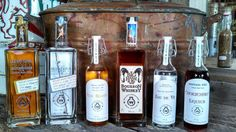 Willie's Distillery in Ennis, Montana uses high quality, locally grown ingredients to make their whiskeys, bourbons, moonshine, grappas and liqueurs. #montana #distillery #moonshine