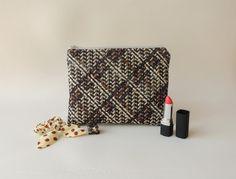 Zipper pouch handmade diy, insert bag organiser
