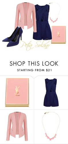 """""""Jane the Virgin: Petra Solano"""" by lauren-kirk ❤ liked on Polyvore featuring Yves Saint Laurent, maurices, Kate Spade and Lola Cruz"""