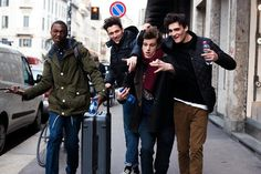 You've Got Male: On the Street With the Men of Fashion Week