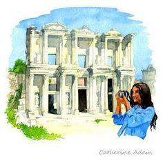 Direction la Turquie ! Découvrez Ephèse et les sites archéologiques de l'Egée ! Le temple d'Artémis, l'une des sept anciennes merveilles du monde antique n'est plus, cependant la visite de l'une des plus prestigieuses villes de l'antiquité reste incontournable ! - #easyvoyage #easyvoyageurs #clubeasyvoyage #terresdevoyages #travel #traveler #traveling #travellovers #voyage #voyageur #holiday #holidaytravel #tourism #tourisme #turquie #turkey #ephese #egee #artemis