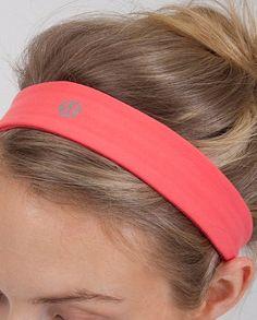 Lululemon slipless headband : Actually stays in place!