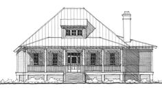 Bosquet Marais House Plan Design from Allison Ramsey Architects Southern House Plans, Cottage House Plans, Country House Plans, Cottage Homes, Carriage House Plans, Cabin Floor Plans, Farmhouse Plans, Home Design Plans, Low Country