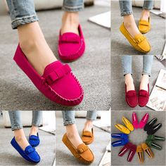 4f7b2da1d58b2 Cool Classic Ribbon Loafer Driving Casual Shoes Trendy Womens Shoes