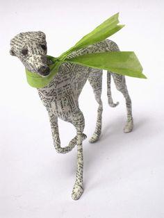 running italian greyhound. I love Lorraine Corrigan's work!