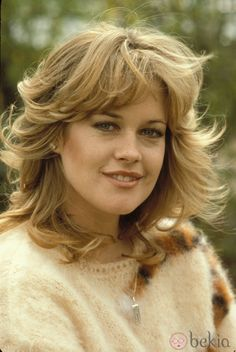 Actress Melanie Griffith, daughter of actress Tippi Hedren