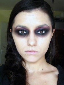 Halloween Kitty Face Makeup