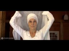 """▶ How to Tie a Women's House Turban - YouTube (for How to Tie A Man's Turban see my Pin Board """"Man to Man"""""""