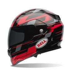 Bell Revolver Evo Street Helmet, Street Helmet, Bell, Segment Red  - Langston Motorsports