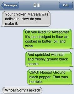 this has definitely got to be one of the worst autocorrect fails that i have ever seen! hilarious though