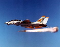 Tomcat from VF-21 launching an AIM-54 Phoenix missile