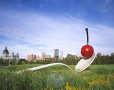 Spoonbridge and Cherry — Collections — Walker Art Center