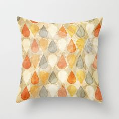 Good Times Throw Pillow by Correen Silke