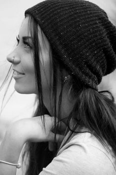 Nose ring, beanie