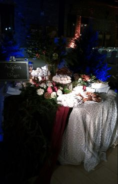 Christmas Wedding Decorations, Bouquet, Weddings, Table Decorations, Furniture, Design, Home Decor, Decoration Home, Wedding Christmas Ornaments
