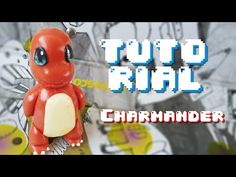 YouTube clay tutorial Charmander