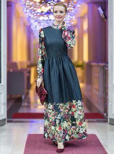 z-cicekli-elbise-lacivert-tuay-karaca-103815-1.jpg (800×1080)