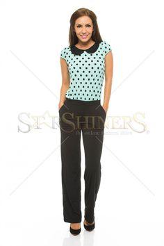 Fofy Elegant Choice Black Jumpsuit
