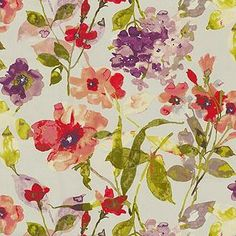 HGTV color study berry Color Studies, Online Craft Store, Bold Prints, Fabric Samples, Window Coverings, Floral Fabric, Fabric Swatches, Hgtv, House Colors