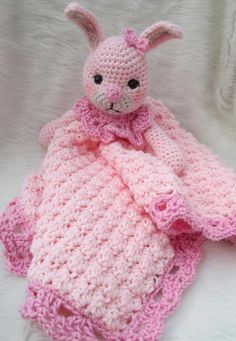 $4.95 for the pattern Bunny Huggy Blanket