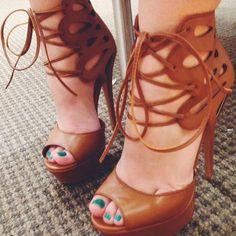 Ziginy Kalani Ankle Strap Sandal Heels