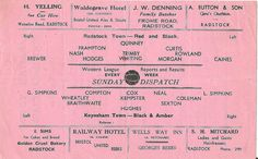 1950's Radstock Town v Keynsham Town Somerset SNR Cup | by brizzle born and bred