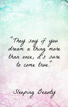 Top 30 Inspiring Disney Movie Quotes Sleeping Beauty quotes, Disney wisdom should be in for some major luck girls Disney Princess Quotes, Disney Movie Quotes, Disney Movies, Disney Sayings, Disney Dream Quotes, Disney Quotes About Love, Princess Sayings, Disney Motivational Quotes, Disney Poems
