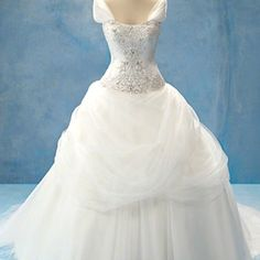 Princess belle wedding dress this is what I want :D