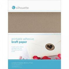 Papier Kraft Adhésif & Imprimable