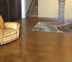 Concrete Acid Stain - LITHOCHROME® Chemstain® Classic from L. M. Scofield Company