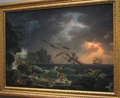 "Claude Joseph Vernet the Shipwreck | The Shipwreck"", by Claude Joseph Vernet at the National Gallery in ..."