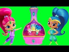 Shimmer and Shine Magic Wishes Jewelry Box Plays Theme Song Music - YouTube