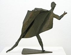 """Susan Wood,   """"The Orator""""   Bronze,   12 1/4 x 11 1/4 x 5 1/2 inches"""