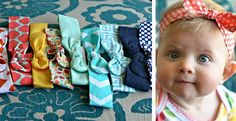50 Different Styles of Vintage Fabric Headwraps!