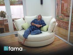 My sleepy husband - 7 Photo Contest Fama, sofas to enjoy at home