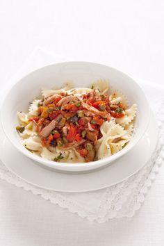Recept voor ricotta-kerstomaatjessaus met basilicum