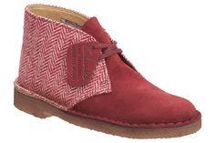 Clarks x Harris Tweed Desert Boots  http://www.facebook.com/DressShoesandSneaker  http://dressshoesandsneakers.tumblr.com/