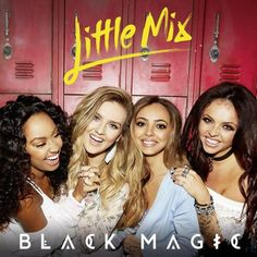 "Read the complete Black Magic lyrics by Little Mix and watch the music video on Directlyrics. ""Black Magic"" is the lead single from the 2015 album of the British girl group. ""Black Magic"" premiered in May. Jesy Nelson, Perrie Edwards, Little Mix Instagram, Weird Songs, Members Of One Direction, Love Me Like, On Repeat, Girl Bands, Crazy People"