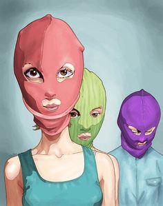 Free Pussy Riot by ~Gunsmithcat on deviantART