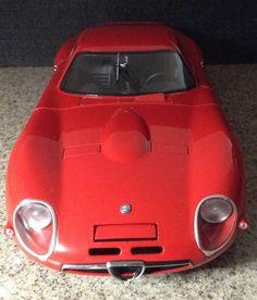 Autoart Millennium 1:18 1965 Alfa Romeo TZ2 #AUTOart #AlfaRomeo