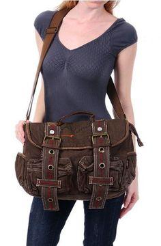 214c57709f2  Retro Style  Canvas  Messenger Bag Womens Messenger Bag, Canvas Messenger  Bag,